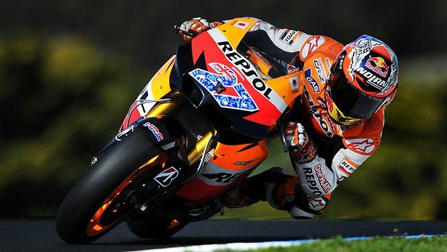 Stoner Kembali Uji Coba Moto GP
