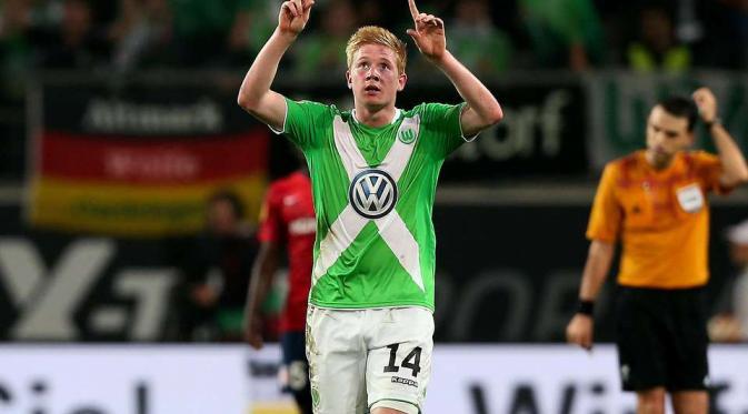 Kevin De Bruyne bersama VfL Wolfsburg Di buang Chelsea, Pemain Ini Masuk Radar Duo Manchester
