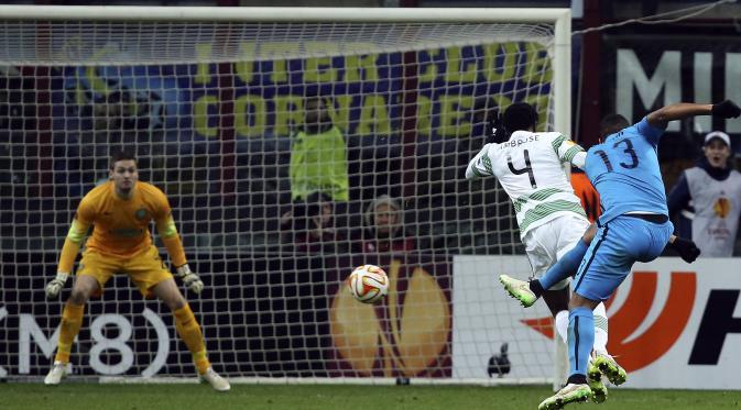 Video Inter Milan Susah Payah Kalahkan Celtic di Liga Europa