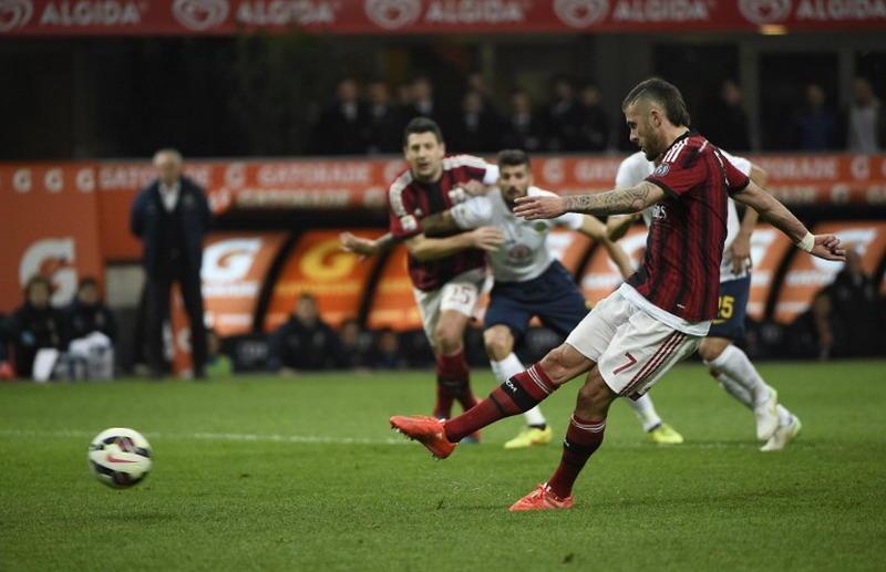 San Siro Diwarnai Dua Penalti di Babak Pertama