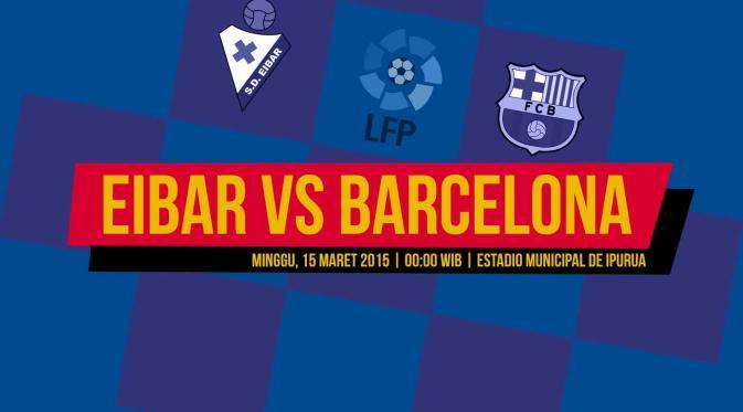 Susunan Pemain Eibar Lawan Barcelona: Trisula Maut Blaugrana Starter