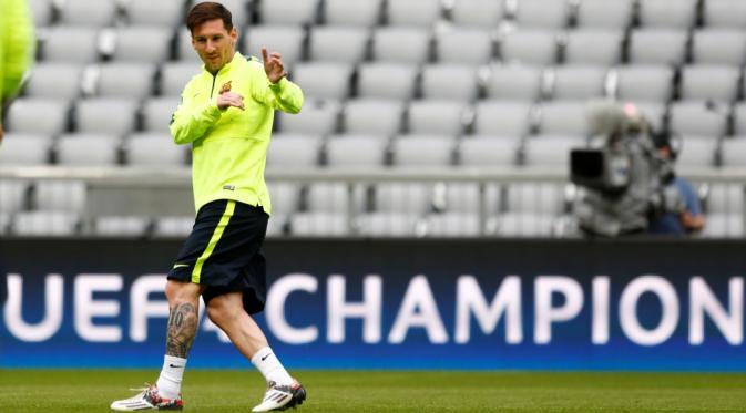 Lionel Messi Melawan Tren Buruk di Atletico