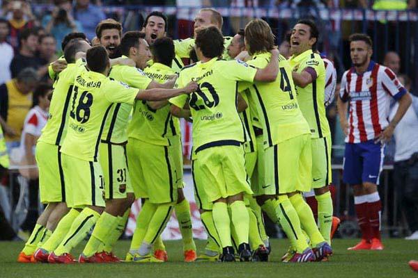 Barca Juara La Liga Spanyol 23 Kali