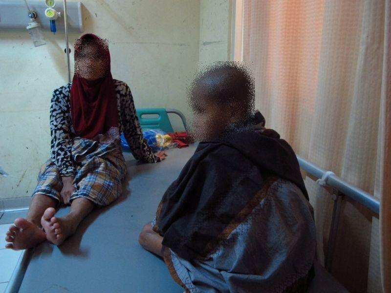 bocah berperilaku aneh ditemukan di hutan Aceh
