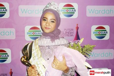 Nesa Aqila Herryanto Putri Terpilih Menjadi Putri Muslimah 2015