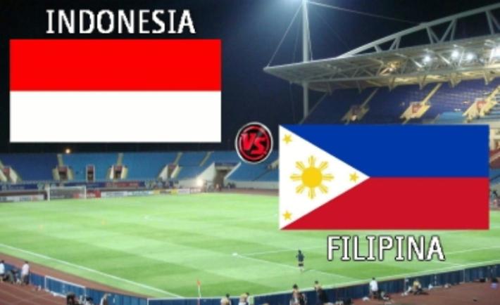Indonesia Vs Filipina Live SCTV dan TVRI