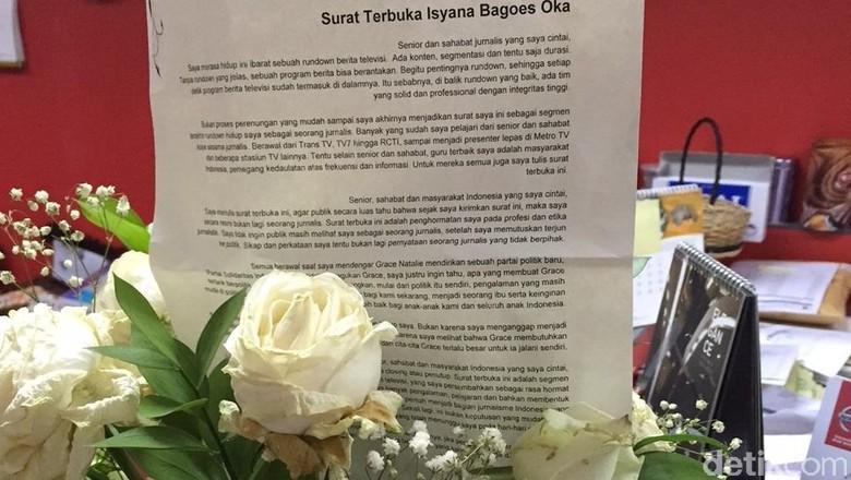 Grace Natalie Bikin Partai PSI, Presenter Cantik Isyana Bagoes Oka Ikut Gabung