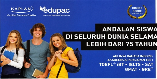 Toefl Preparation Edupac Indonesia