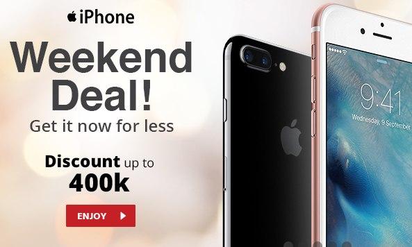 Promo IPhone 2017 di JD Indonesia