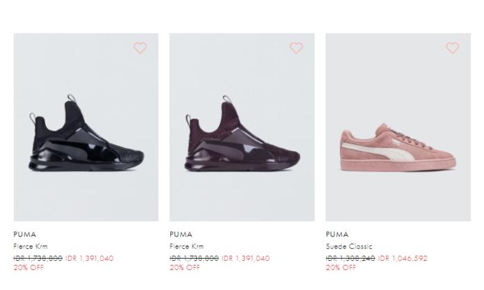 gambar yang di beri link (https://www.bobobobo.com/id/brand/women/shoes/puma