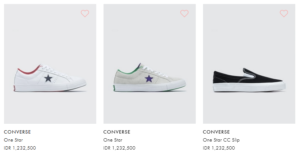 harga sepatu converse