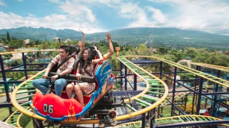 Wahana Seru yang ada di Jawa Timur Park 2
